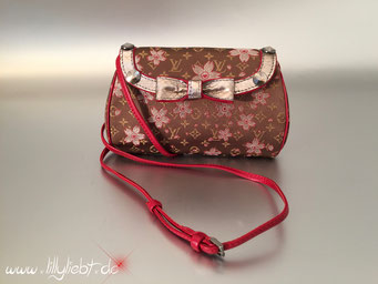 Louis Vuitton Satin Cherry Blossom Griotte