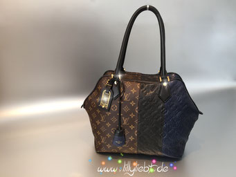 Louis Vuitton Monogram Blocks Zipped Tote in Marine