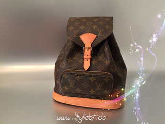Louis Vuitton Monogram Canvas Montsouris MM