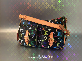 Louis Vuitton Monogram Multicolore Lodge GM in Schwarz