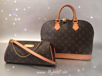 Louis Vuitton Monogram Canvas Eva & Alma PM
