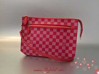 Louis Vuitton Damier Couleurs Modul in Carmine
