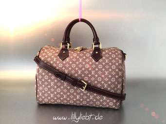 Louis Vuitton Monogram Idylle Speedy Bandouliere 30 in Sepia