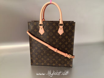 Louis Vuitton Monogram Canvas Sac Plat PM