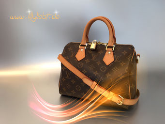 Louis Vuitton Monogram Canvas Speedy Bandouliere 25
