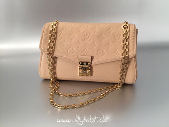 Louis Vuitton Monogram Empreinte Saint Germain in Dune