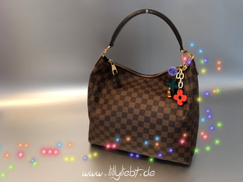 Louis Vuitton Damier Portobello PM, Louis Vuitton Ailleurs City Taschenschmuck