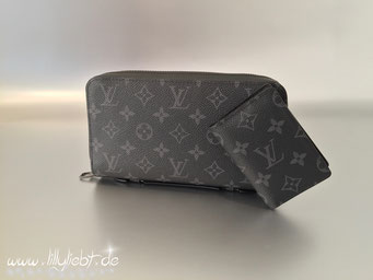 Louis Vuitton Monogram Eclipse Zippy XL & Taschenorganizer