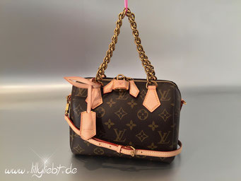 Louis Vuitton Monogram Canvas Chain Speedy 20
