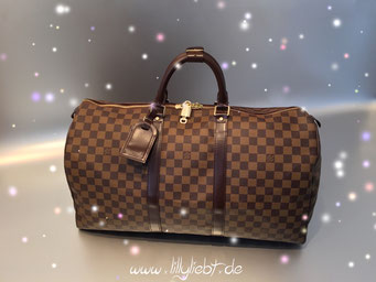 Louis Vuitton Damier Ebene Keepall 50