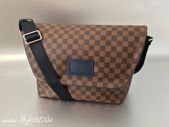 Louis Vuitton Damier Ebene Sprinter MM in Kobalt