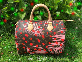 Louis Vuitton Monogram Jungle Speedy 30 in Sugar Pink Poppy