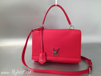 Louis Vuitton LockMe II in Rubinrot