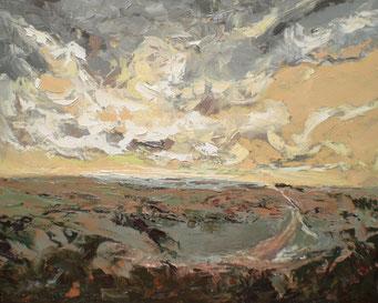 Titel: Die lebende Wolke, Maße: 100x80cm, Jahr: 1998