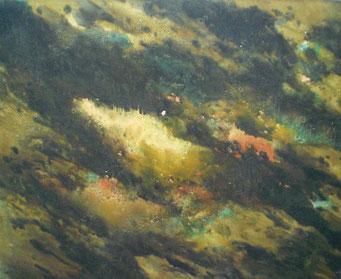 Titel: Universum, Maße: 150x120cm, Jahr: 2014