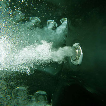 aussenwhirlpool south seas spas düsenmassage