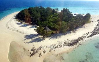 Isola di Thanda scoperta dagli imprenditori svedesi Dan e Christin Olofsson nel 2006