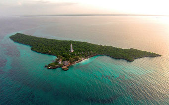 Isola di Chumbe e le sue acque circostanti furono dichiarate Chumbe Island Coral Park nel 1994