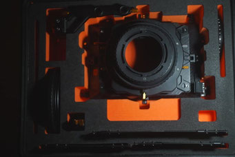 Puhlmann Cine - Bright Tangerine DNA Strummer Mattebox 3 - Stage 15mm & 19mm