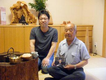 毎年、夜明け前に到着して、開店まで待っていてくれる山田喜代次さん