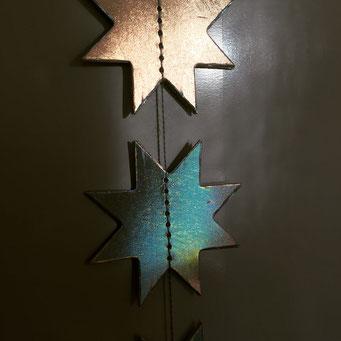 stars on the fridge