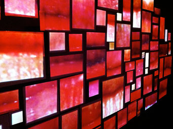Mapping 2012 | expo BAC Genève | installation de Aleksandra Dulic & Kenneth Newby