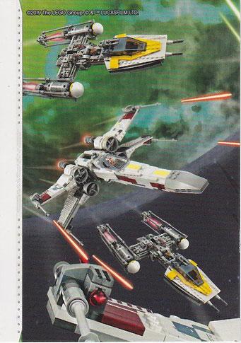 LEGO Star Wars Tradings Cards Serie 2 Karte 195