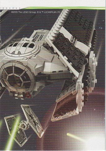 LEGO Star Wars Tradings Cards Serie 2 Karte 190