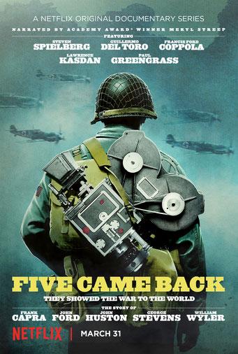 5 hommes et une guerre / Netflix