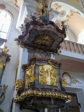 Kanzel von 1693