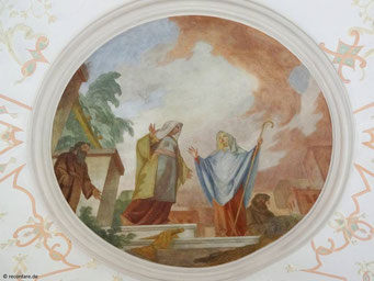 """Gemälde """"Heimsuchung Mariens"""""""