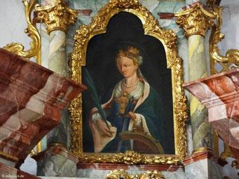 Gemälde Hl. Katharina