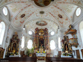 Barocker Altarraum