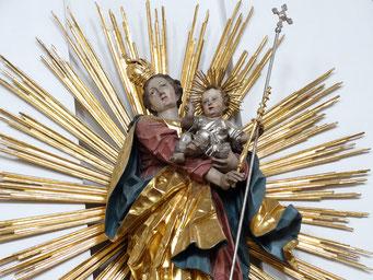Rokoko Madonna von 1780