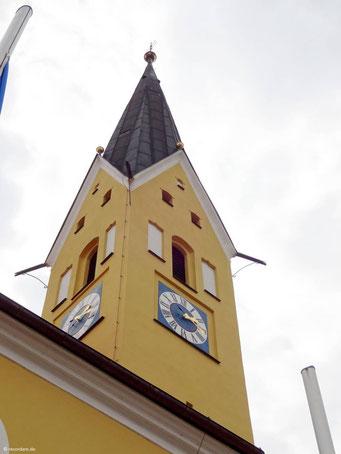Gotischer Kirchturm