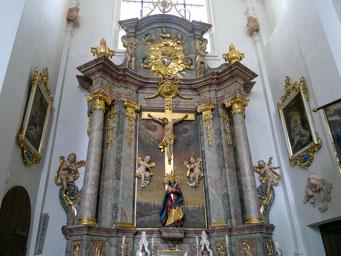 Kreuzaltar im klassizistischen Stil von 1794