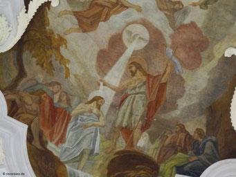 Taufe Jesu im Jordan
