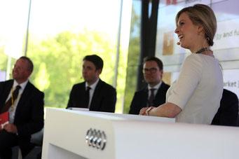Maxi Sarwas hosting the Audi Used Car Conferense