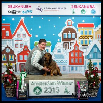 Winner 2015 en BOB - Amsterdam Winnershow 2015