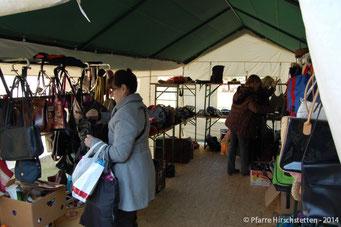 Ein eigenes Zelt für Taschen und Koffer
