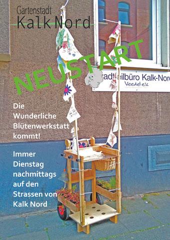 Einladungskarte Wunderliche BlütenWerkstatt_2020_Britta Frechen