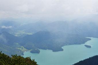Jachenau und Walchensee
