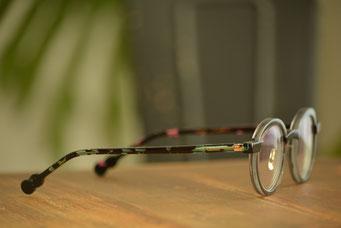 フレーム:VioRou Haru C-1774M 税抜36,000円 レンズ:Ito Lens アクロライト 1.60 カスタムオーダーメイド単焦点内面非球面レンズ 税抜19,000円 仕上がり価格 税抜55,000円