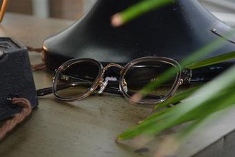 NEW. Horton C-Gray  税抜12,000円  レンズ:TALEX  平面レンズ 税抜11,000円   仕上り価格 税抜24,000円