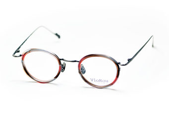 VioRou Nao col.2009 Red and brown-Antique silver 37,000円(税抜)