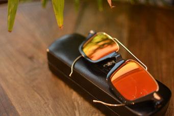 フレーム:GROOVER AURA C-1 税抜45,000円 レンズ:RARTS 1.60薄型度付き偏光レンズ 税抜18,000円 仕上がり価格 税抜63,000円