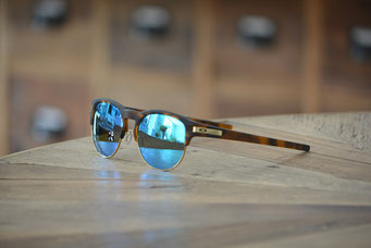 LATCH KEY(ラッチ キー) MATTE BROWN TORTISE・SHPPHIRE IRIDIUM POLARIZED 税抜¥31,000円