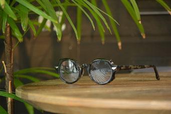 フレーム:GROOVER PROTON C-4 税抜29,000円 レンズ:Ito Lens 1.60薄型球面カラーレンズ 税抜13,000円 仕上がり価格 税抜42,000円