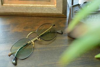 フレーム:GROOVER LEW C-2 税抜32,000円 レンズ:Ito Lens 1.60薄型球面カラーレンズ 税抜13,000円 仕上がり価格 税抜45,000円