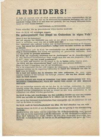 NSB Affiche: Tweede Kamerverkiezingen 26 mei 1937 6.1